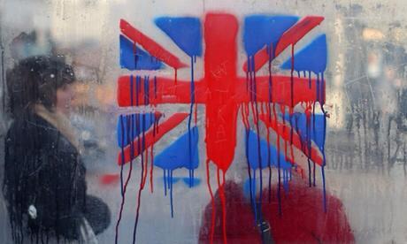 Bleeding UK flag AFP September 2014